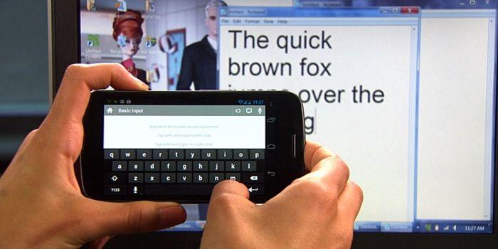 Usar Android como teclado para Windows