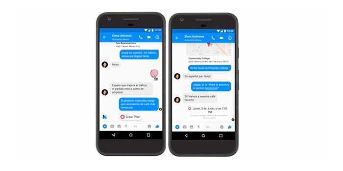 Usar Facebook M en Espana 2