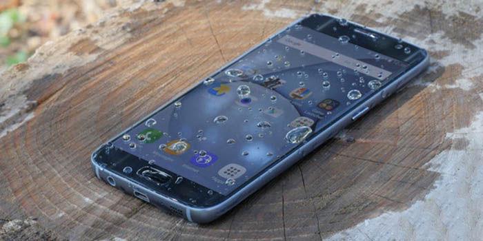 Usar Galaxy S7 mojado