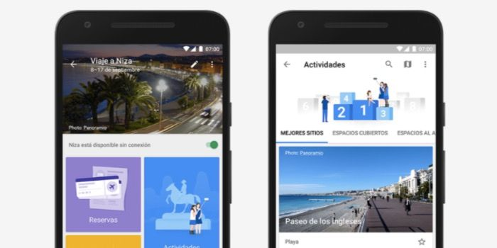 Usar Google Trips y Google Flights en español