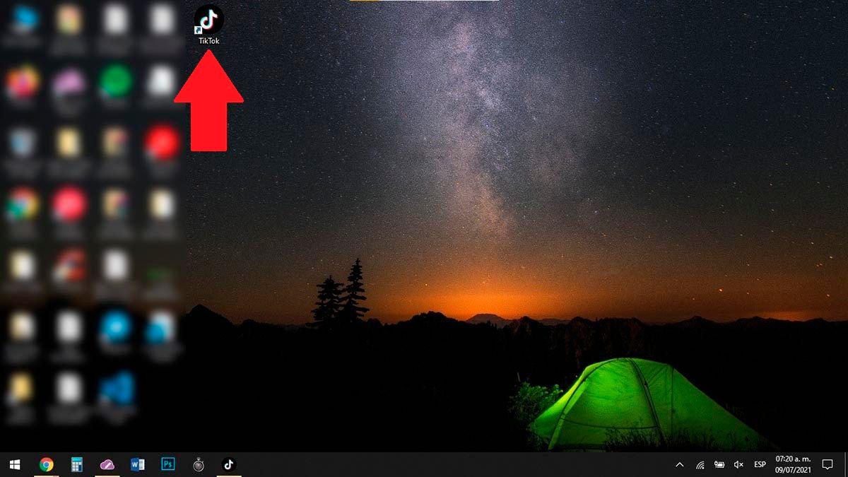Usar TikTok en PC