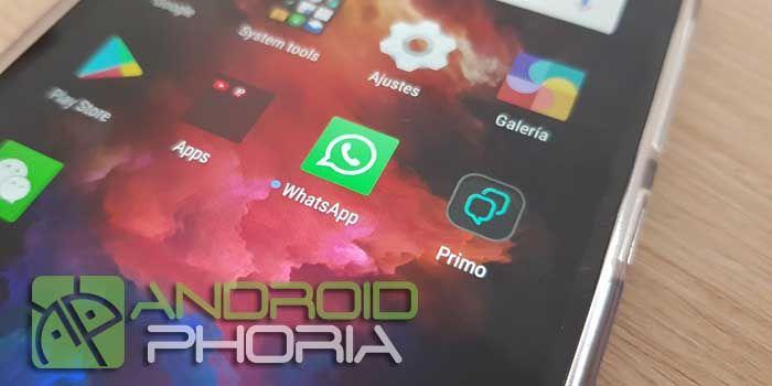 Usar WhatsApp Primo