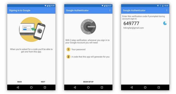 Usar autenticación en dos pasos en Android Wear
