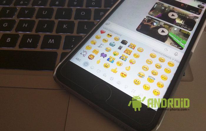Usar emoticonos de iOS 9.1 en Android