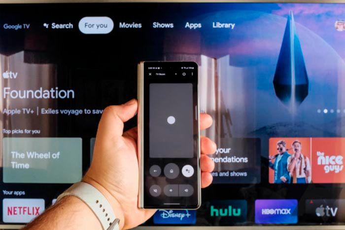 Usar mando de Google TV en el movil