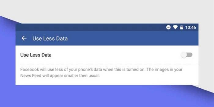 Usar menos datos en Facebook