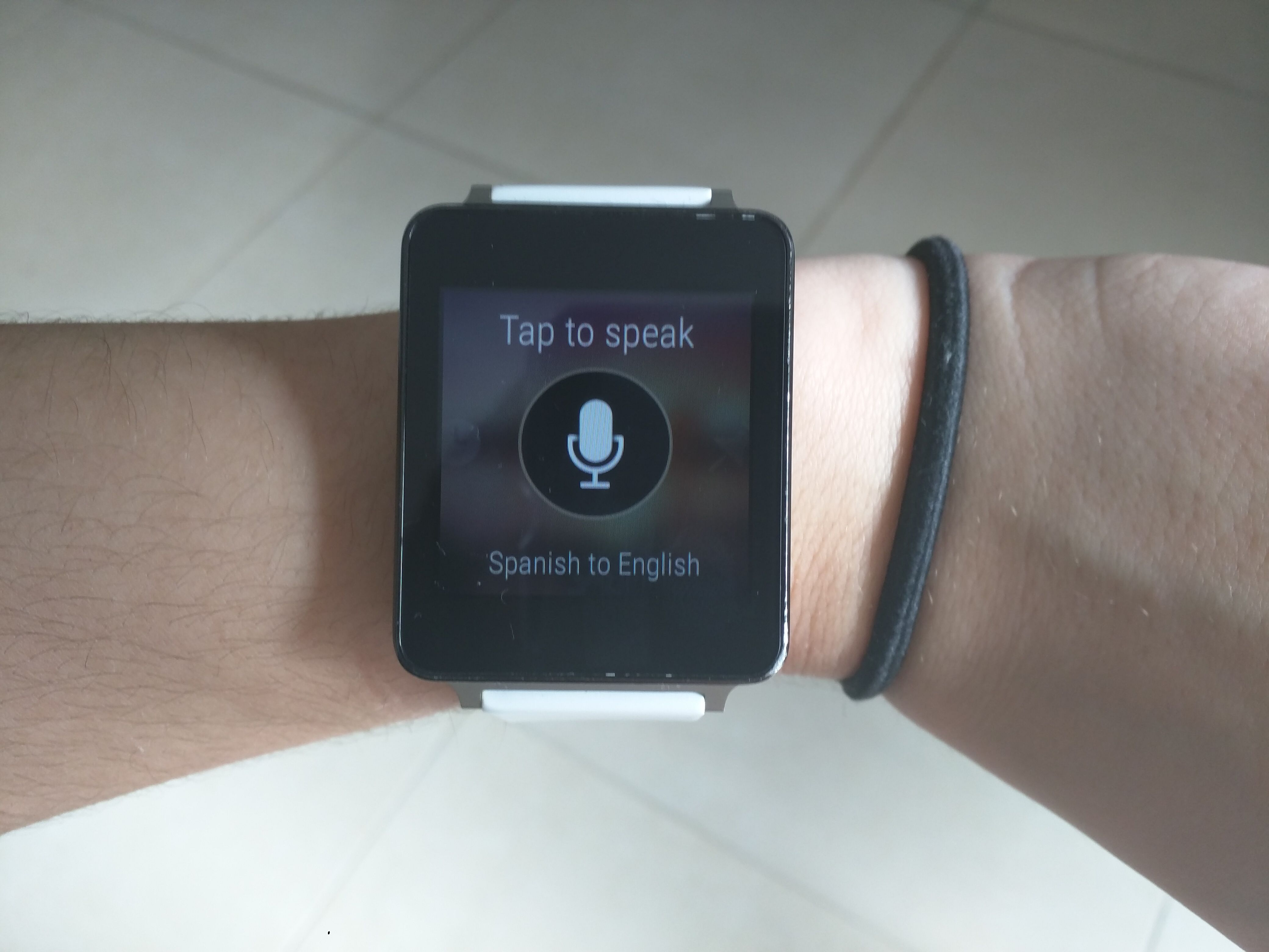 Usar traductor Microsoft en Android Wear facil