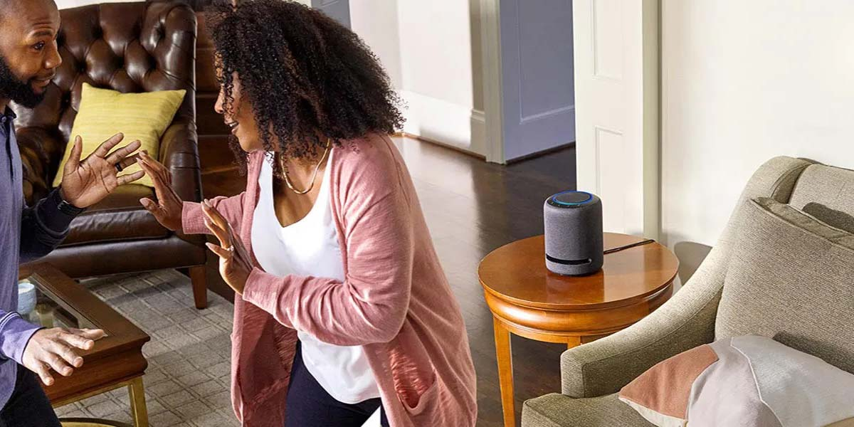 uso del altavoz Amazon Echo