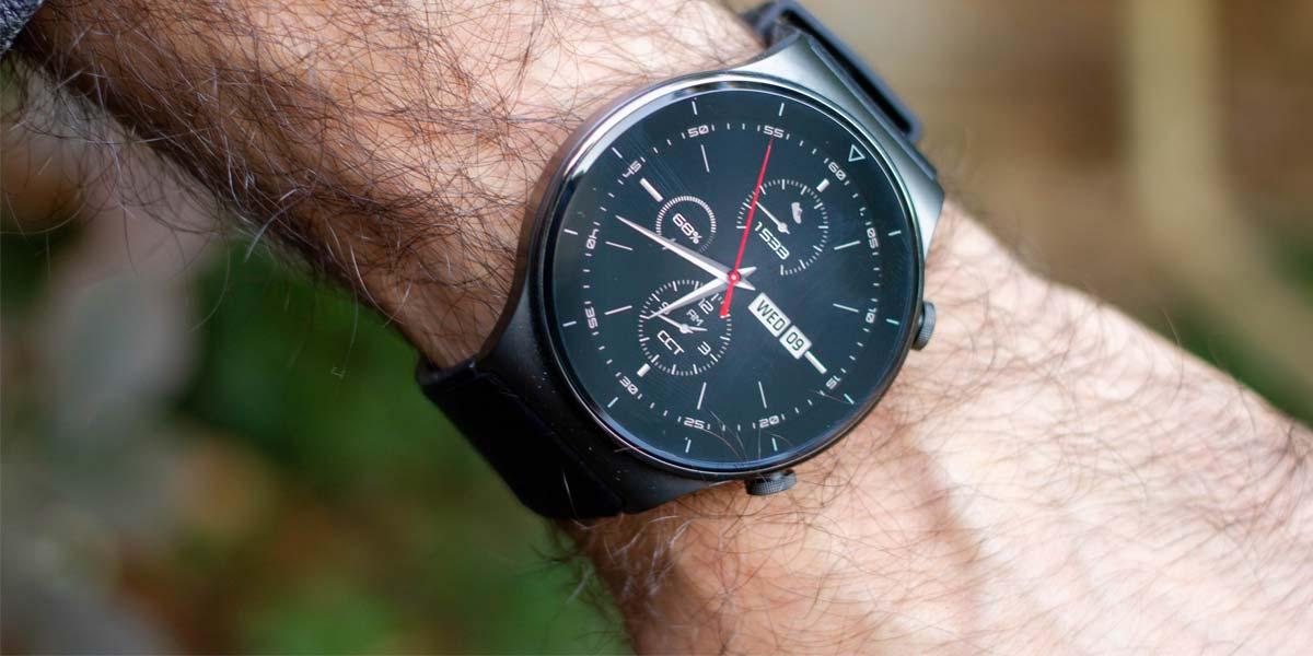 Uso de un smartwatch Huawei