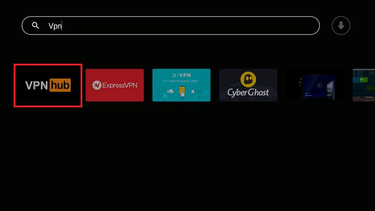 VPN para Android TV