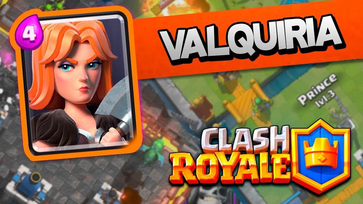 Valquiria Clash Royale
