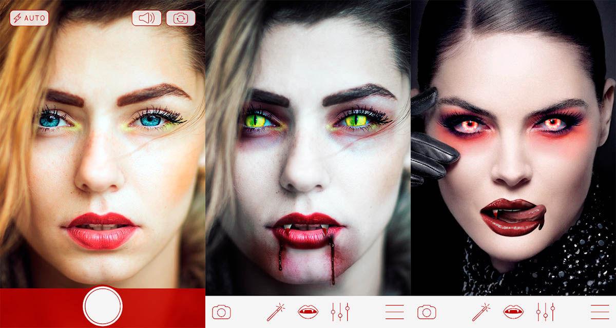 Vampire Cameera capturas