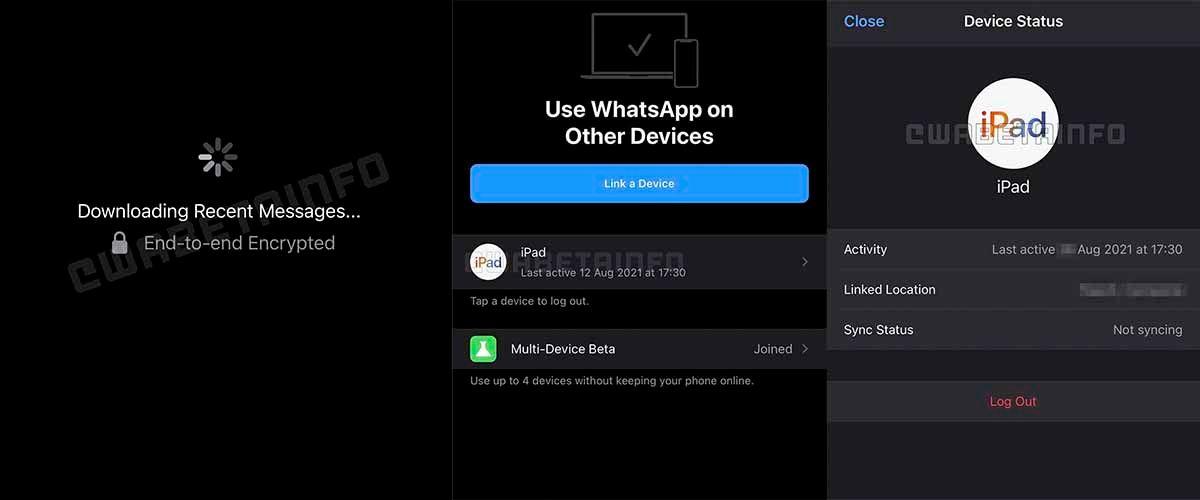 Varias sesiones abiertas mismo WhatsApp filtración