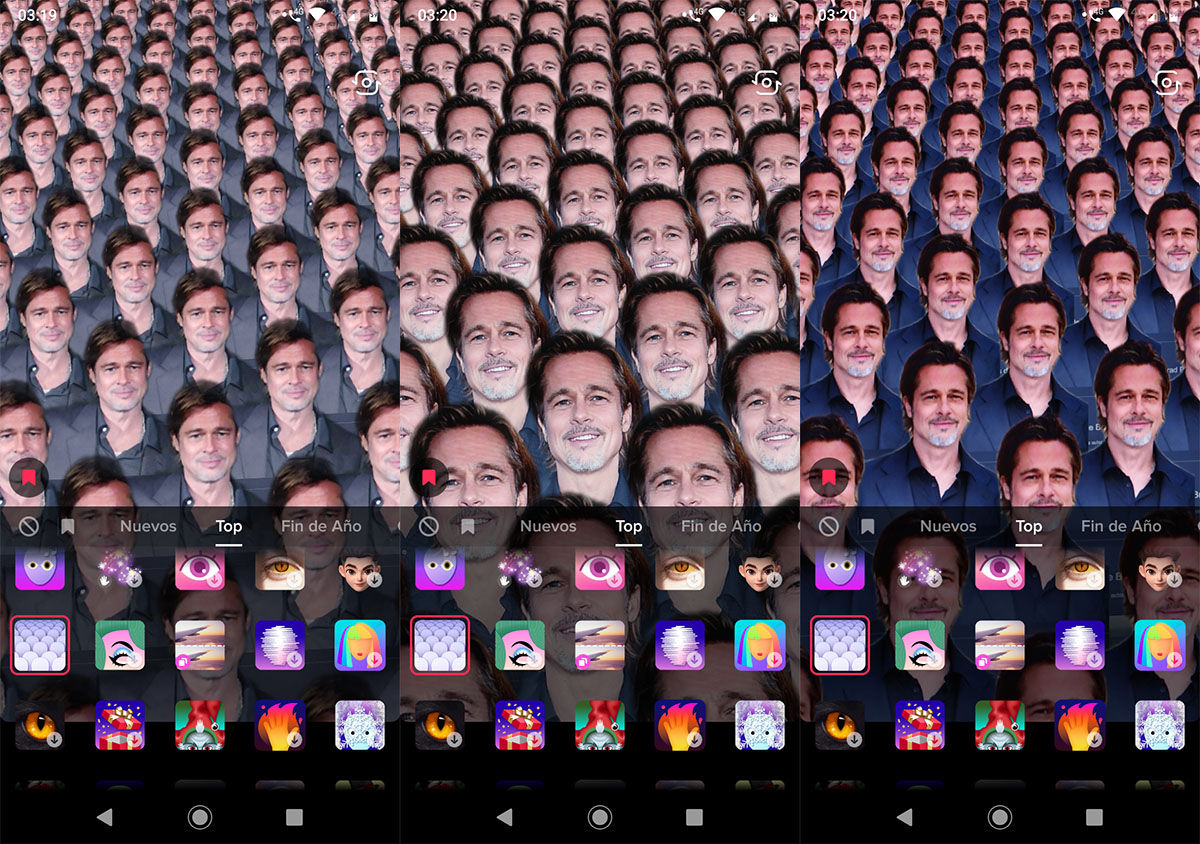 Varios clones al mismo tiempo