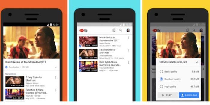 Ventajas de usar Youtube Go