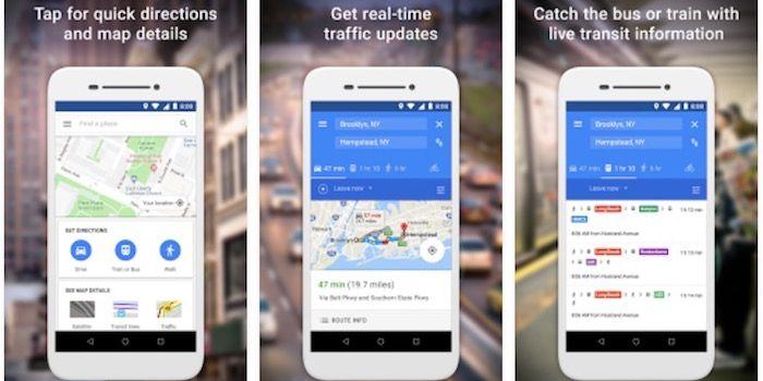 Ventajas de utilizar Maps Go