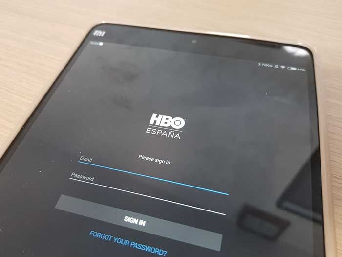 Ver HBO Xiaomi