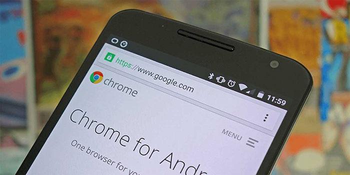 Ver contrasenas guardadas en Google Chrome Android