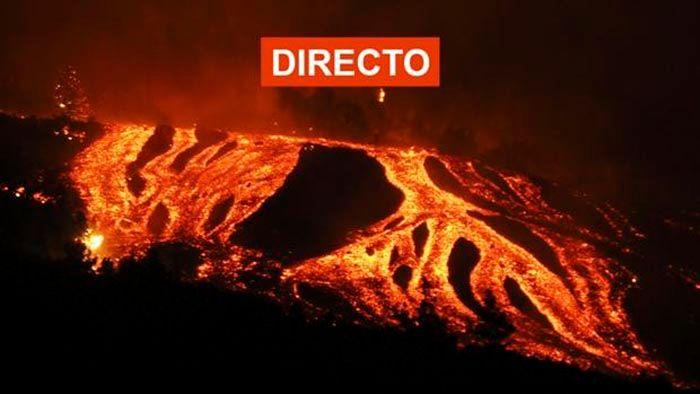 Ver en directo volcan de La Palma
