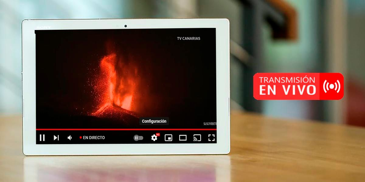 Ver en vivo volcan La Palma Espana
