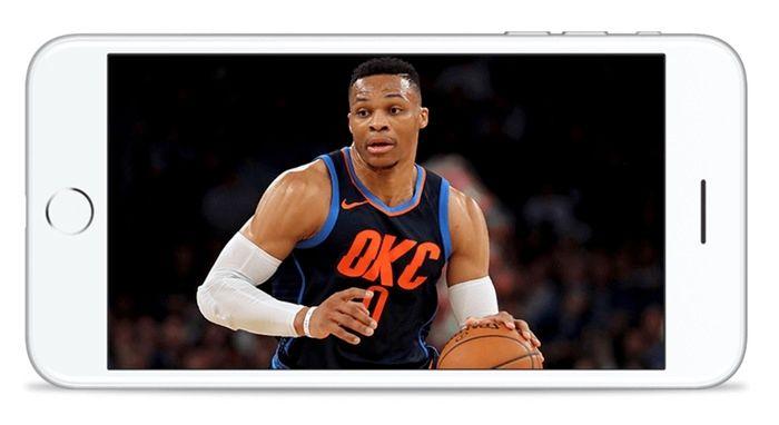 Ver final NBA smartphone