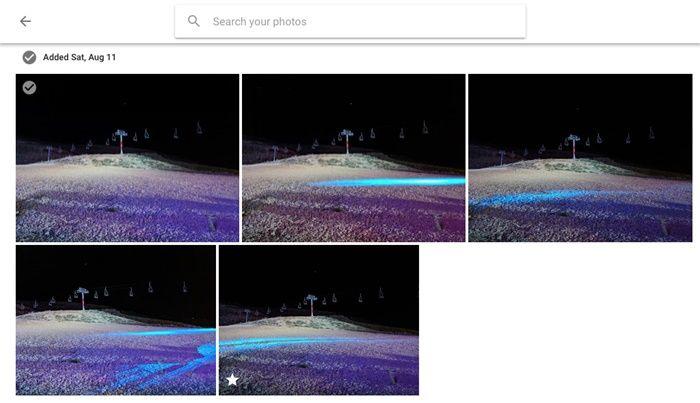 Ver fotos recientes anadidas a Google fotos