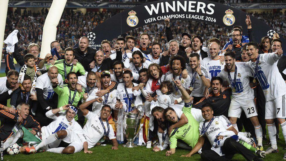 Ver los partidos del Madrid en Champions