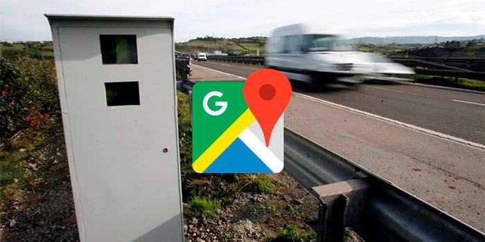 Ver radares de velocidad google maps espana