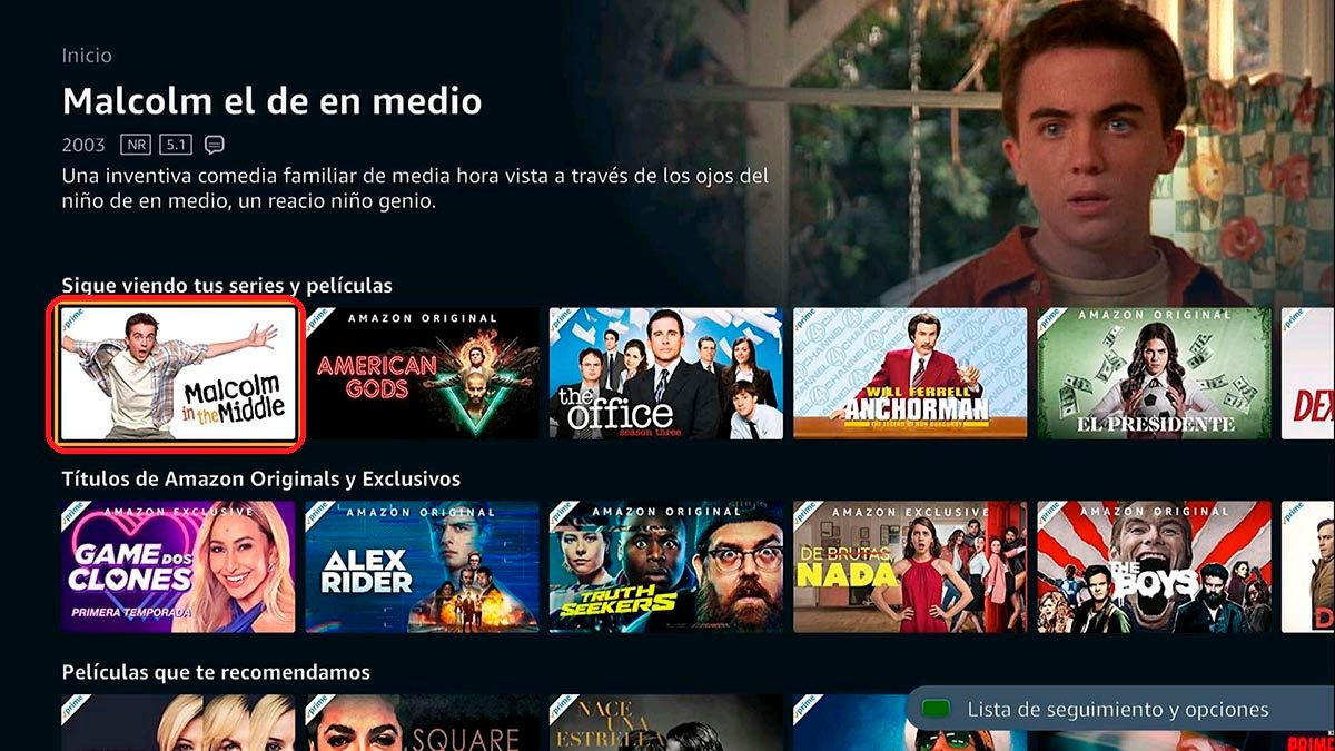 Ver series y peliculas Prime Video