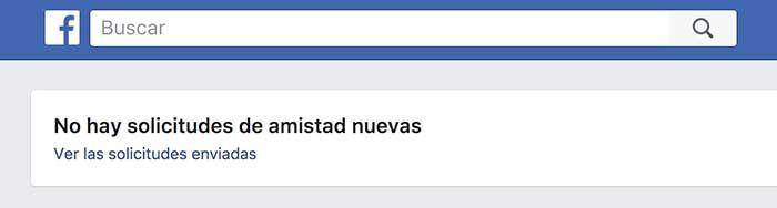 Ver solicitudes de amistad Facebook