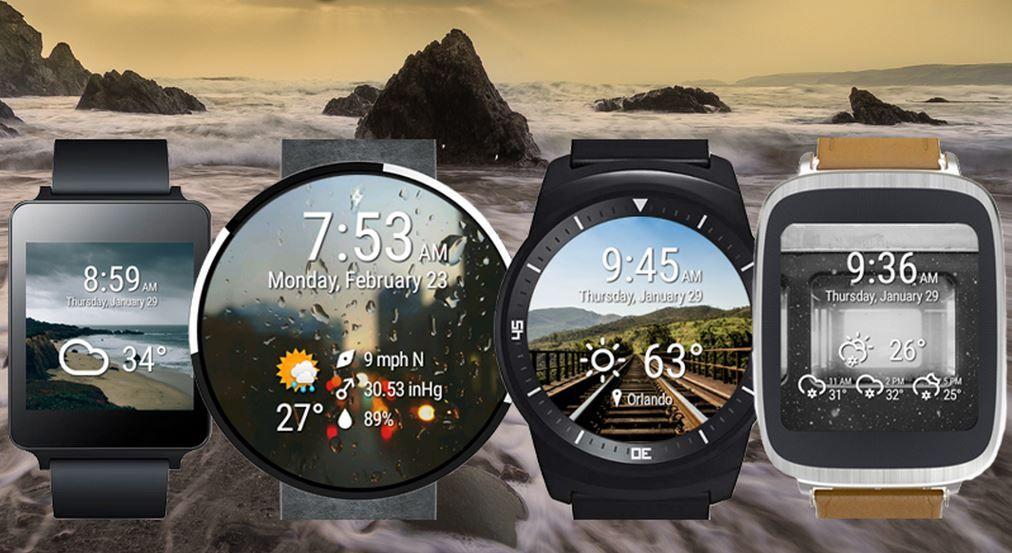 Ver tiempo y hora en Android Wear