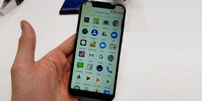 Vernee M7 clon iPhone X con notch incluido
