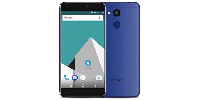 Vernee M5 azul