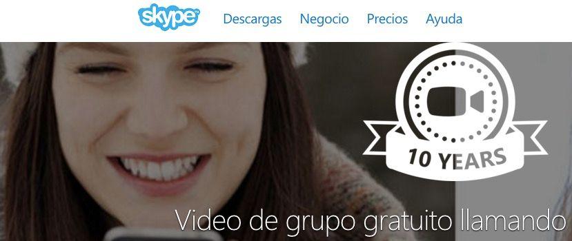 Videollamadas en grupo Skype para Android