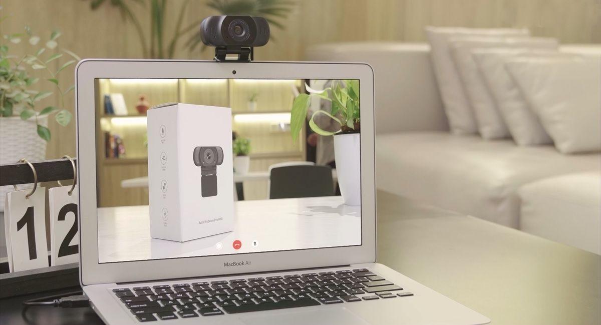 Vidlok Auto Webcam pro W90 en portatil