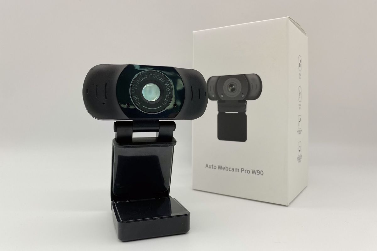 Vidlok Auto Webcam pro W90 y caja