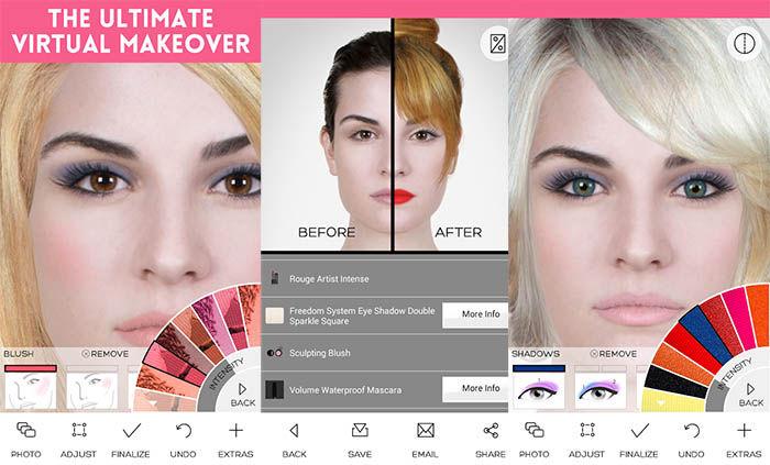 Virtual Makeover capturas