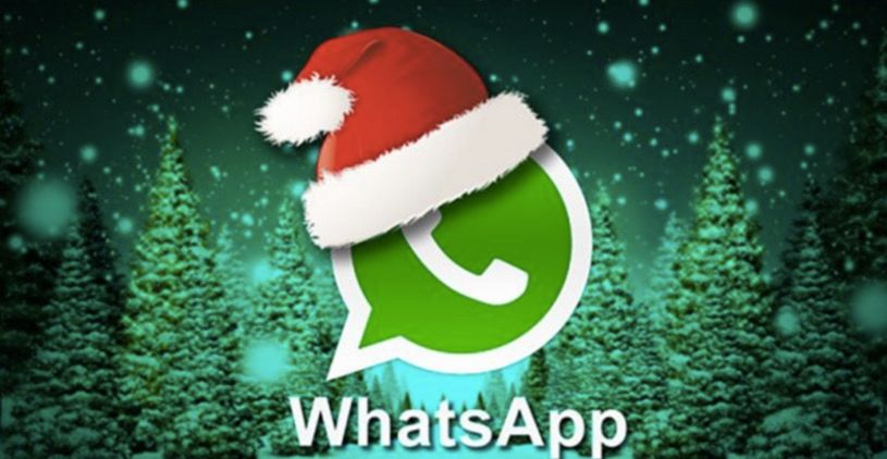 Virus de WhatsApp con mensaje de Navidad