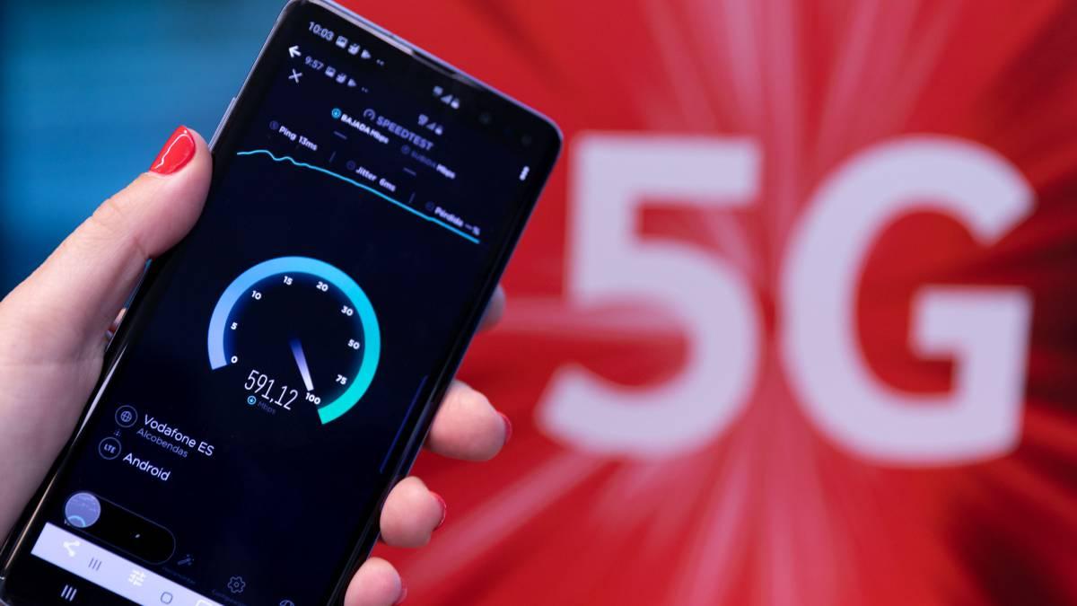 Vodafone 5G ciudades espana