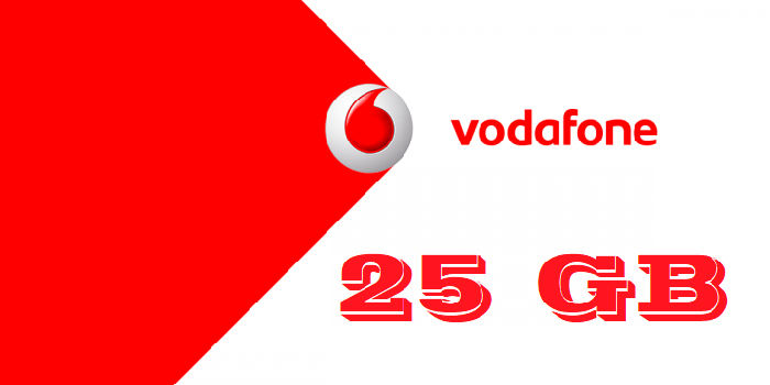 Vodafone regala 25 GB