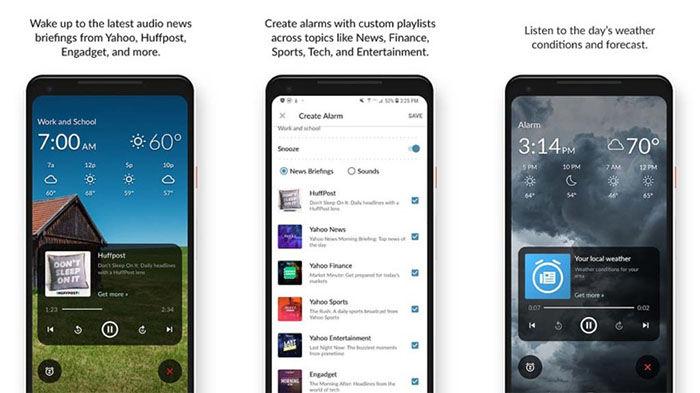 WakingNews Alarm Clock Android