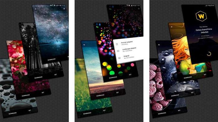 Wallpaperscraft para Android