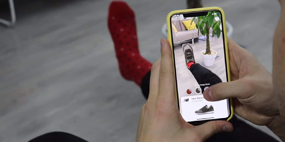 Wanna Kicks aplicacion que permite probar zapatillas con realidad aumentada