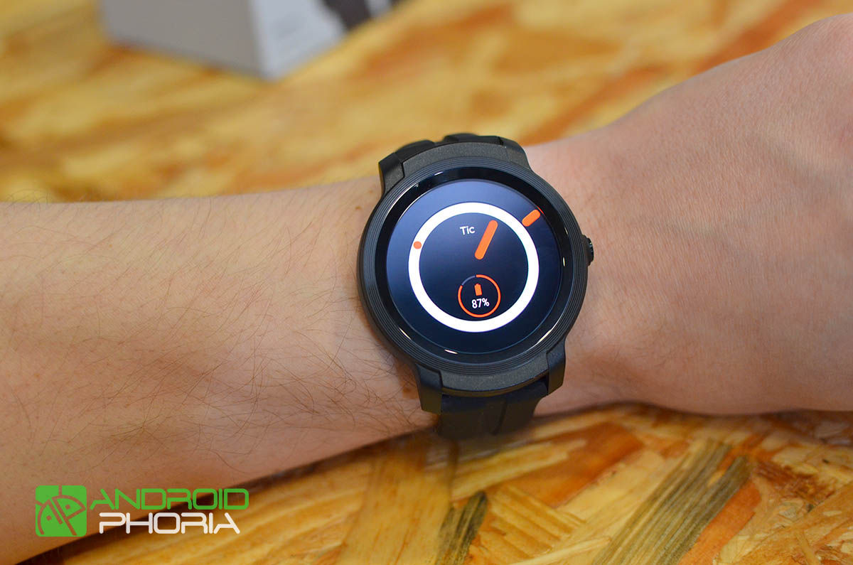 Watchface de TicWatch E2