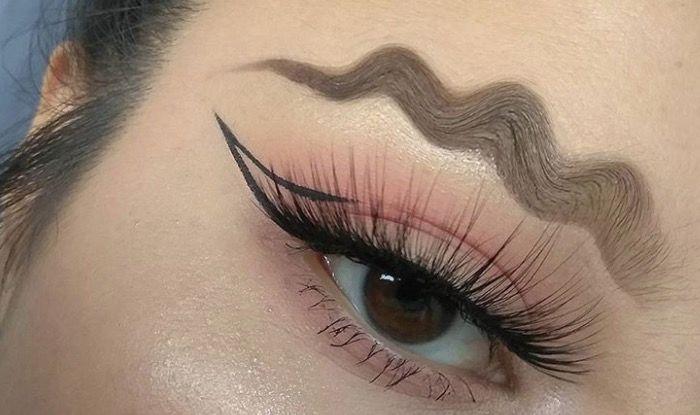 Wave brow