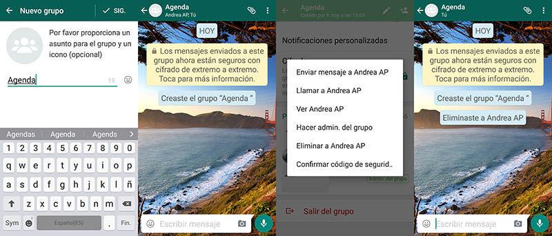WhatsApp Agenda