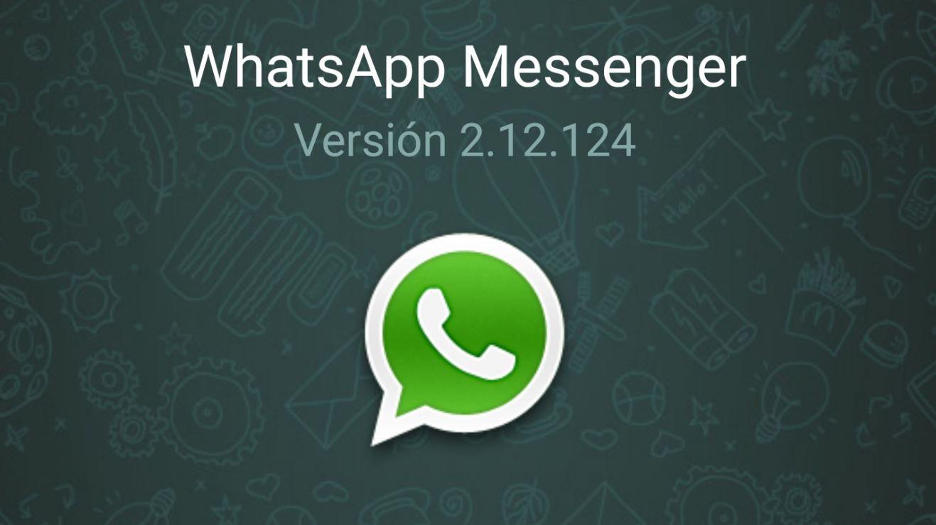 WhatsApp Messenger 2.12.124