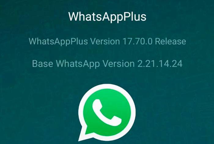 WhatsApp Plus 17 70 novedades