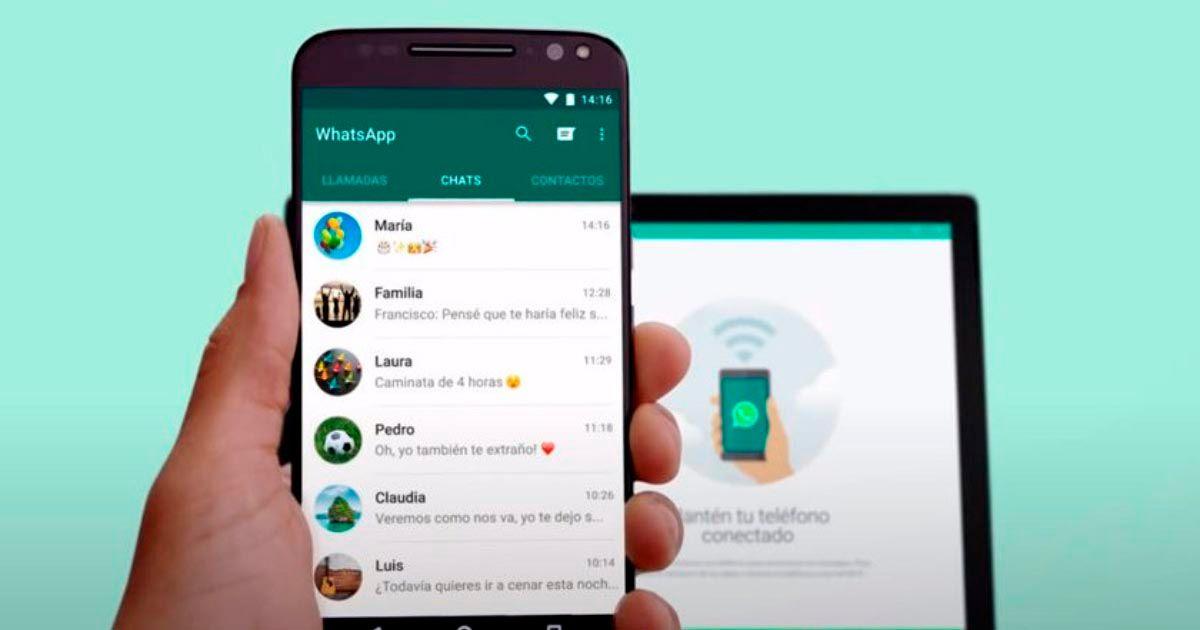 WhatsApp Web funcionamiento
