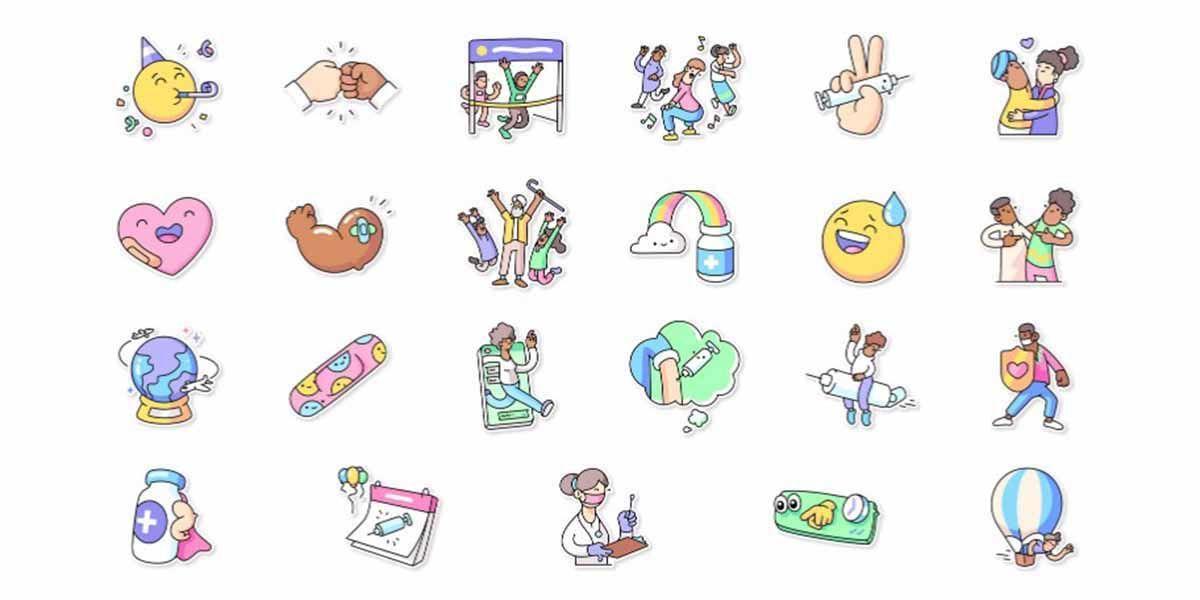 WhatsApp añade un paquete de stickers sobre las vacunas del COVID 19